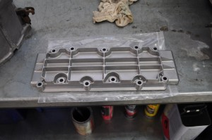 Chromated turbo lower cam cover