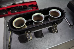 Air tubes that sit on top of throttle bodies