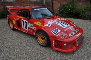 Dick Barbour, Paul Newman and Rolf Stommelen Porsche 935 - Hedingham Castle 2011