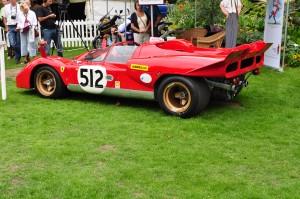 "Ferrari 512 from the film ""Le Mans"" - Chelsea Autolegends Sep 2010"