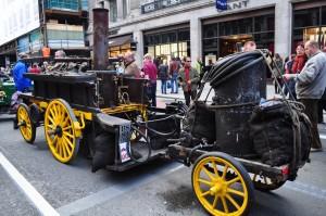 Salvesen Steam Car - c 1896 + solid fuel supply