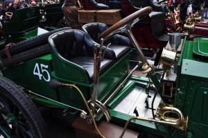 Racing Napier. Comfy race seats for driver and riding mechanic.