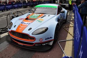 Lovely Gulf liveried Aston