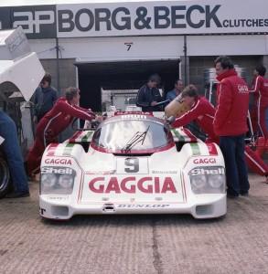 Brun Motorsport 956 111 driven by Oscar Larrauri and Massimo Sigala