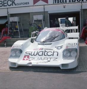Brun Motorsport Porsche 956B 116 driven by Walter Brun and Vern Schuppan