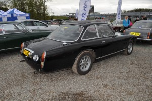 Elegant 3/4 view of Gordon Keeble with its clean Guigaro lines