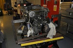 Fiendishly complicated looking 935 engine