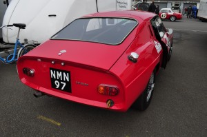 Tail view of the 1965 WSM MGB