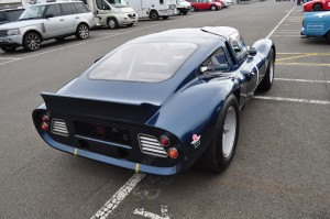 Rear view of Tojeiro Ford GT