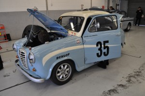 """1958 Austin A35 Academy. """"Where's that engine gone?"""""""