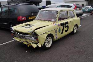 Austin A40 - after the race!