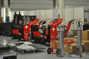 Spare noses & tails for the Rebellion Racing cars