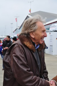 Derek Bell - Grand Marshal of the 6 Hours of Silverstone 2014