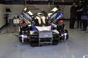 Wurz, Sarrazin & Nakajima Toyota Racing TS 040 Hybrid