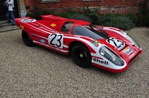 Attwood/Hermann Porsche 917 that won Le Mans in 1970