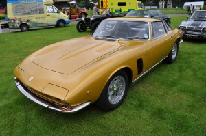 Sleek lines of an Iso Grifo