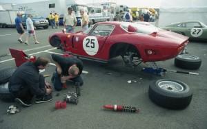 Bizzarrini Strada suspension rebuild - Silverstone 2002
