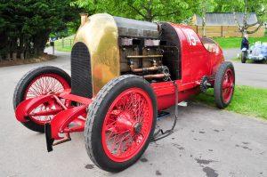 Flame belching exhausts of the Beast of Turin