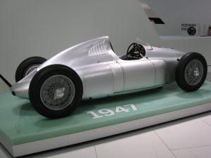 Cisitalia 360 in the Porsche Museum